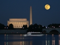 Washington DC Monuments by Moonlight Cruise Photos