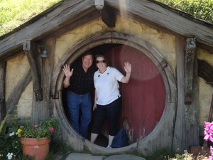 Waitomo Caves and 'The Lord of the Rings' Hobbiton Movie Set Day Trip from Auckland Photos