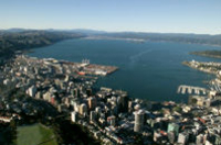 Wellington City Panorama Helicopter Flight