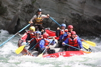 Whitewater Rafting on Jasper's Fraser River Photos