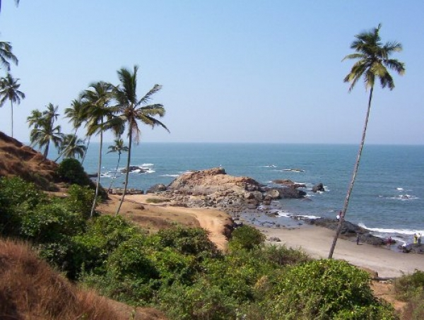 Detail Varca Beach Goa India Location Map Goa India