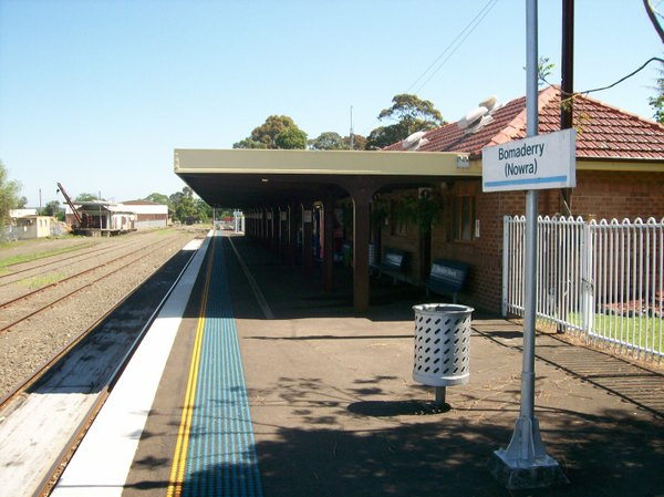 Australia. . It is located in the northern. in. Bomaderry railway station is the terminus