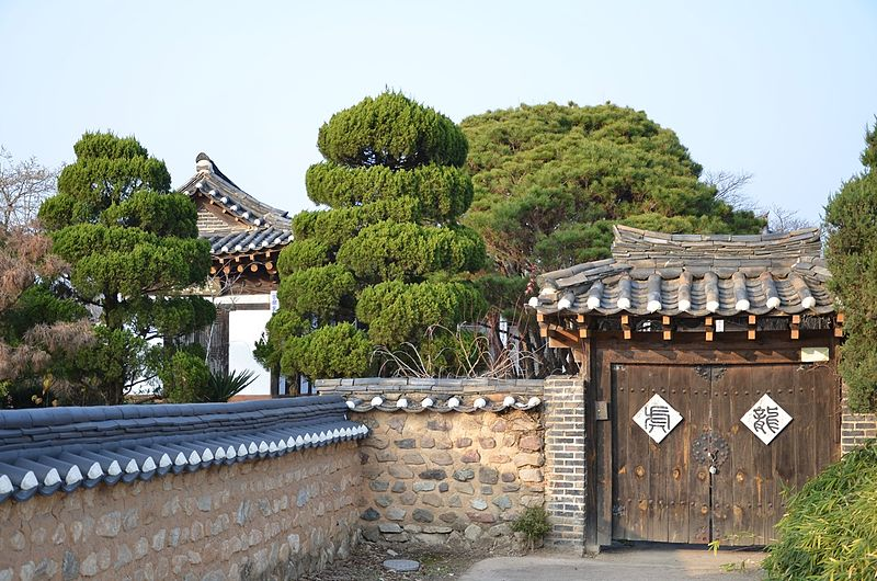 Gyeongsangbuk-do South Korea  city images : Hahoe Folk Village, South Korea Tourist Information