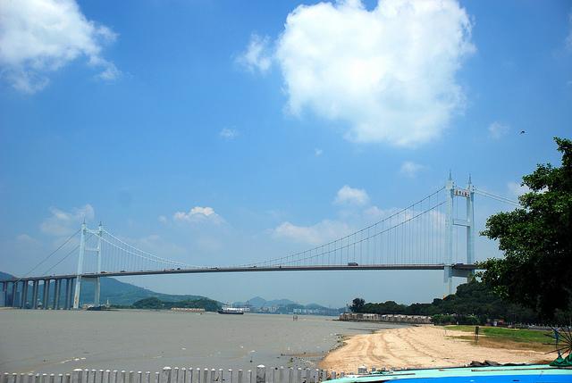 Humen Pearl River Bridge, Guangzhou China Tourist Information