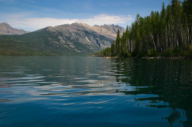Kintla Lake Campground Montana United States Tourist