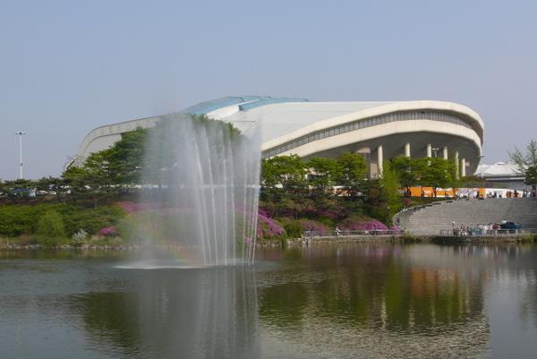 Jamsil Indoor Swimming Pool Seoul