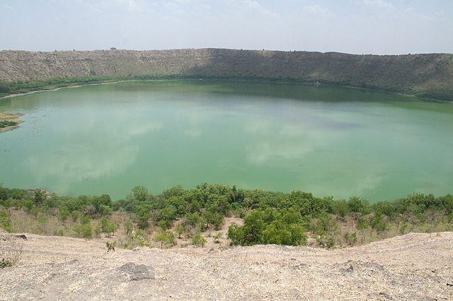 lonar crater lake  lonar  india tourist information
